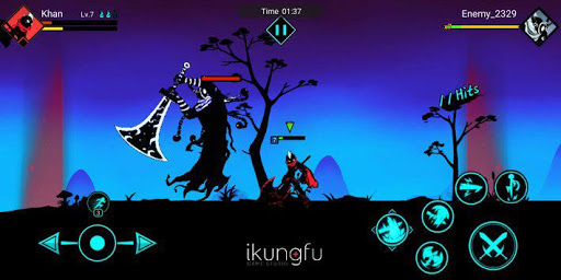 Kungfu Master 2: League of Stickman 1.8.2 gameplay | by HackJr.Pw 5