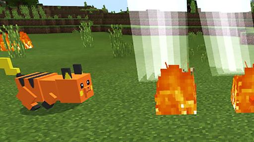 Pikachu mod for minecraft pe 1.5 screenshots 3