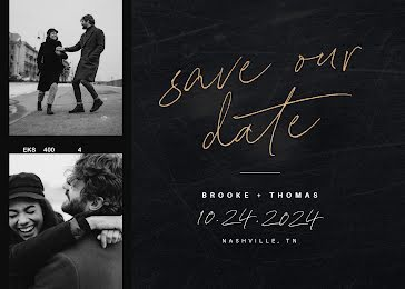 Save Our Date - Save the Date Template
