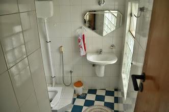 Photo: Banheiro do atelier