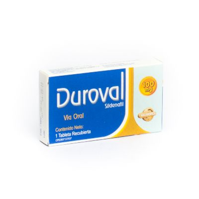 Sildenafil Duroval 100 Mg X 1 Tableta Valmor 100 mg x 1 Tableta