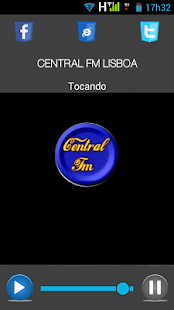 CENTRAL FM LISBOA- screenshot thumbnail