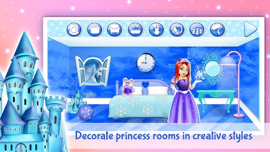 Ice Princess Doll House Design - náhled