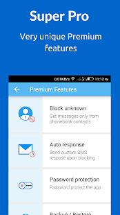 SMS Blocker. Clean Inbox- screenshot thumbnail
