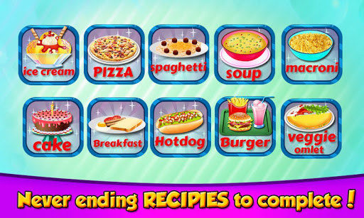 Kids in the Kitchen - Cooking Recipes 1.24 screenshots 2