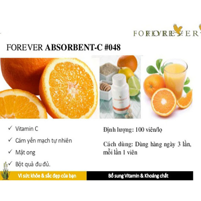 Viên Bổ sung vitamin C mã số 048