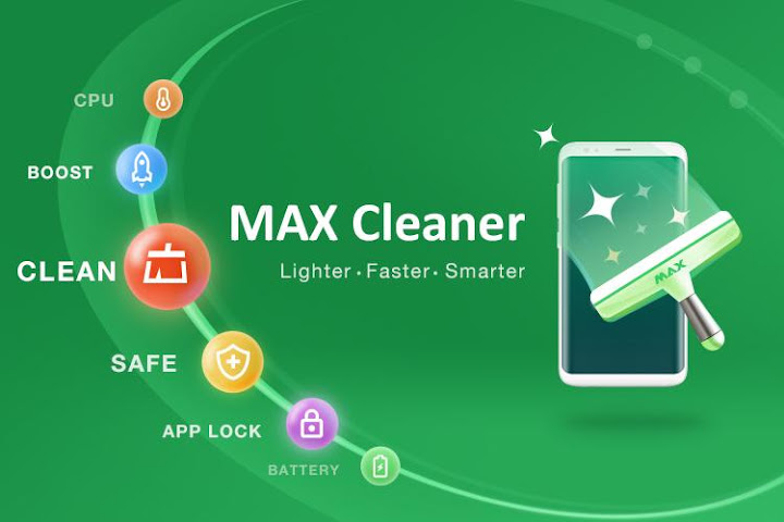 MAX Cleaner - Antivirus, Booster, Phone Cleaner Android App Screenshot