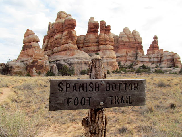 Spanish Bottom Foot Trail