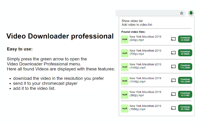 fvd free video downloader google chrome