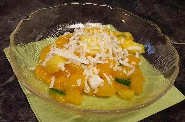 Mango Fruit Salad Recipe