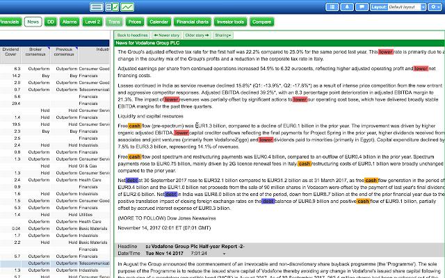 SharePad News Highlighter