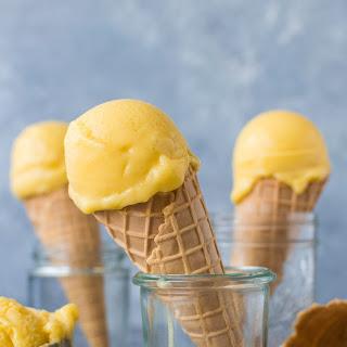 Mango Lassi Sorbet (Vegan) Recipe