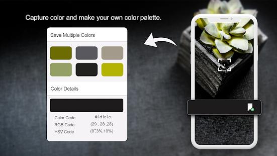 لون الكاشف - لون الكاميرا المنتقى والتعرف Mod