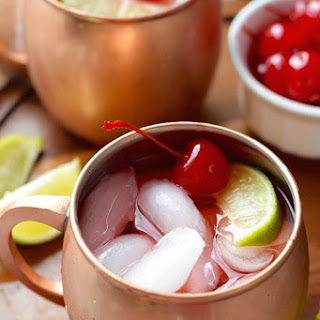Cherry Moscow Mules
