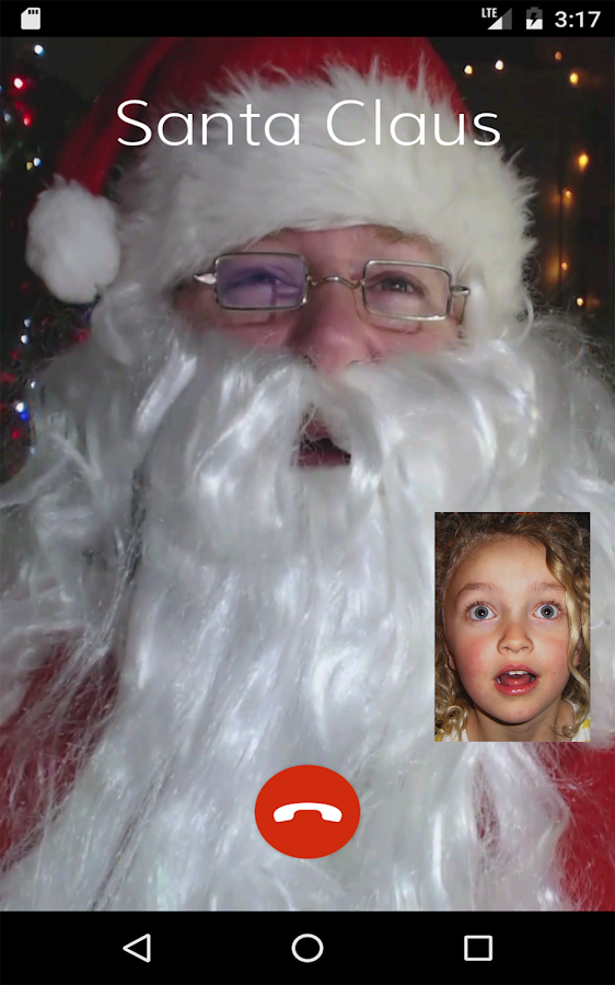 Video Call Santa - Christmas Wish- screenshot