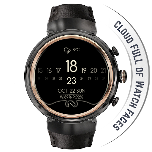 Watch Face - Minimal & Elegant for Android Wear OS  screenshots 16