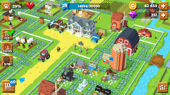 Blocky Farm MOD Apk (Unlimited Money) 6