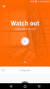 Egardia Alarm System App - náhled