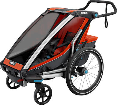 Thule Chariot Cross 1 Trailer and Stroller: Roarange, 1 Child Thumb