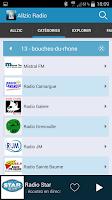 Screenshot of Allzic Radio webradios & music