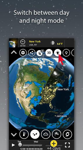 MeteoEarth screenshot 4