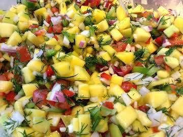 Green Raw Mango Salad