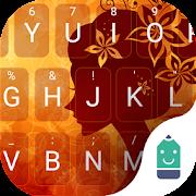 Golden Girl Keyboard Theme