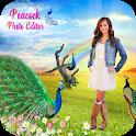 Peacock Photo Editor 2020 icon