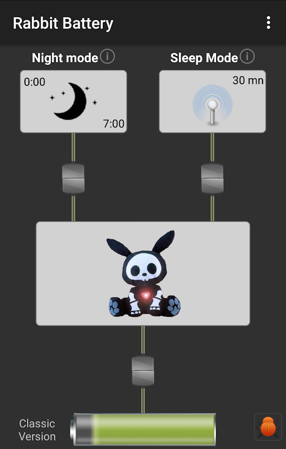 Rabbit Battery- screenshot