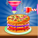 Cake Pizza Factory : Wedding Cake Cooking Game icon