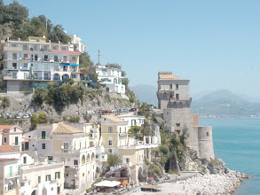 Photo: Saracen tower in Amalfi