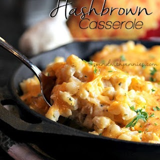 Stove Top Hashbrown Casserole.