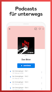 Deezer: Musik & Podcasts hören Screenshot