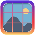 9 Cut Square Photo Splitter - Instant Squares icon