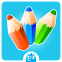 Kids Coloring Book Free icon