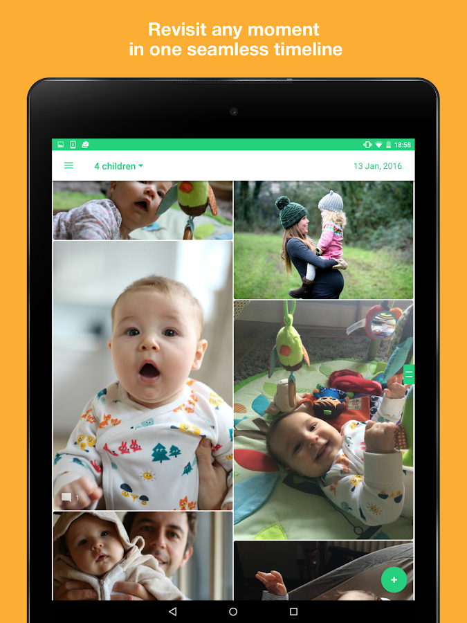Kids' photo journal for family- screenshot