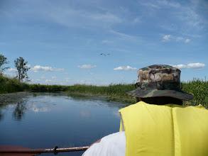 Photo: Dolinę Biebrzy zaatakowaliśmy z lądu i z wody...