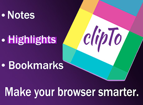 ClipTo | Notes, Highlights and Bookmarks