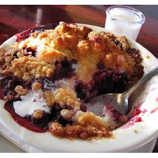 Boysenberry Cobbler