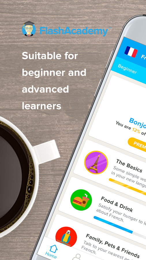 FlashAcademy - Language Learning- screenshot