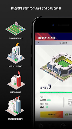 Franchise Hero - Football Manager  astuce 2