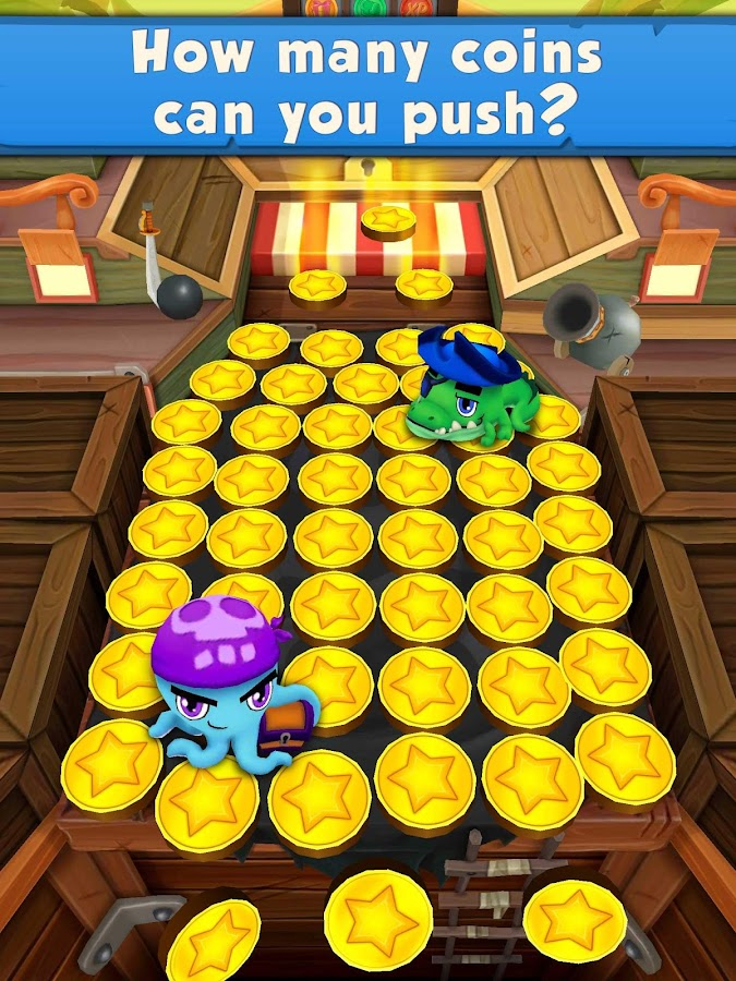 Coin Dozer: Pirates- screenshot