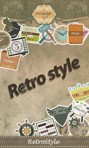 Retro Style GO Launcher Theme