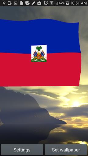 Haiti Flag Live Wallpaper