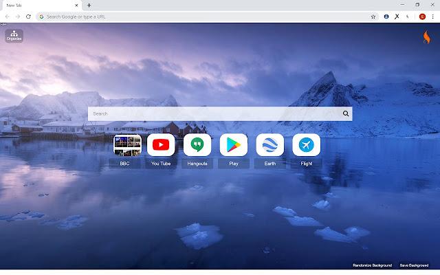 Agni Newtab - Versatile Browser Start Page