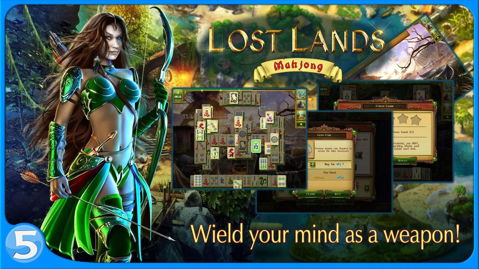 Lost Lands Mahjong Truhen