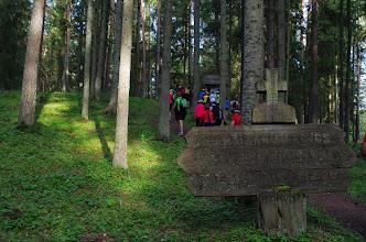 Photo: Antazavės šilo mūšio vieta ir partizanų žeminės
