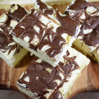 Low Carb Coffee Cheesecake Slice.
