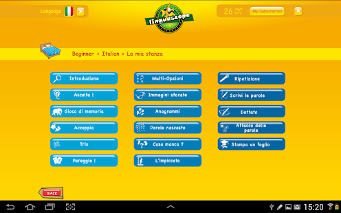 Linguascope Beginners Italian- screenshot thumbnail