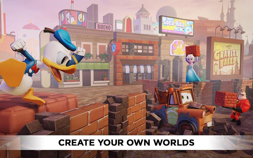 Disney Infinity Toy Box 2.0 Hack Mod v1.01 Apk - screenshot